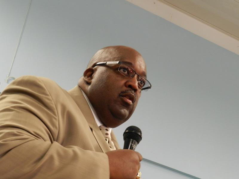 Larry Watkins, Flint Community Schools interim school superintendent (file photo)