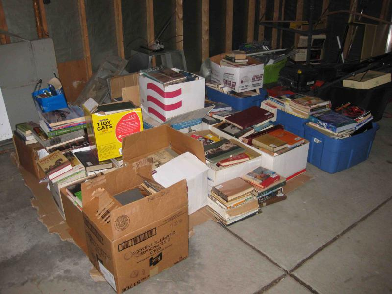 Some of the material collected.