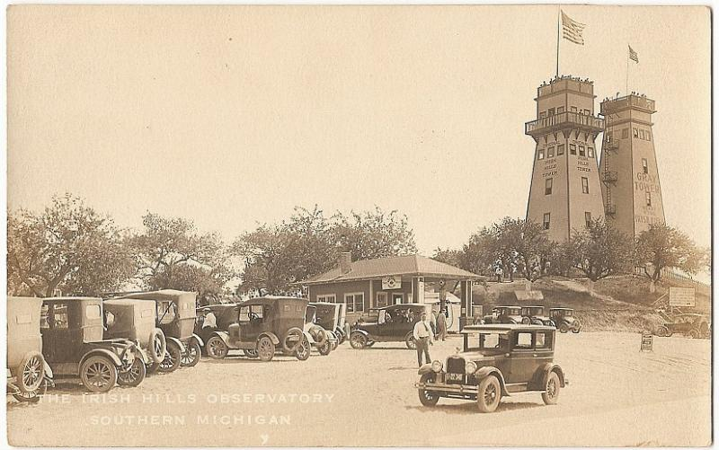 In their hey day, the Irish Hills Towers were a highlight for any visitor travelling through southern Michigan
