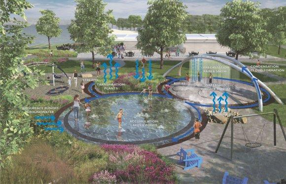 It's back to the drawing board for the The William G. Milliken Waterscape in Traverse City.