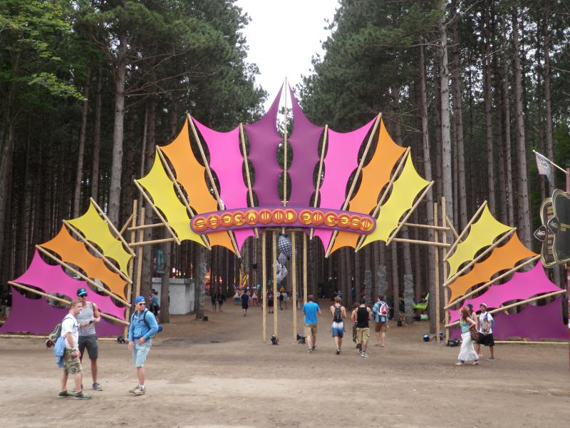 Entrance to the Sherwood Forest