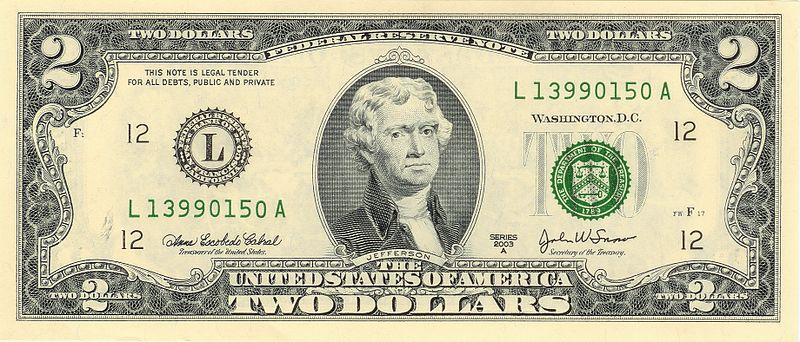 Organizers of a campaign hope you notice more $2 bills in circulation.