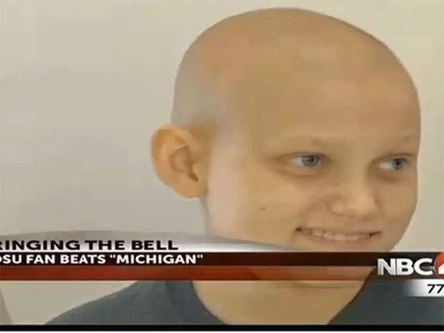 Grant Reed is using the rivalry between OSU and U of M to help him beat his cancer.