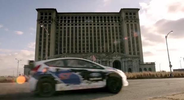 Organizers used Detroit's decay as a backdrop for their X Games promotional video.