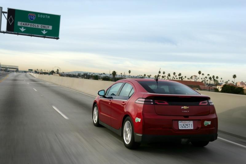 California remains the best market for the Chevy Volt.