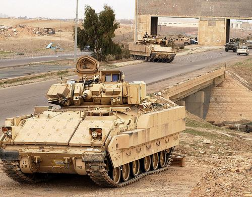 There are 46 suppliers of the Bradley Fighting Vehicle in Michigan.