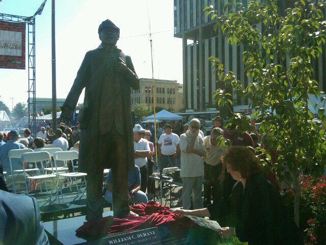 William Durant statue