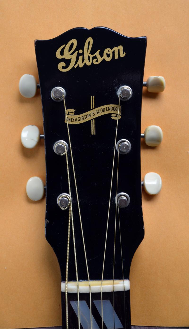 A Banner Gibson guitar.