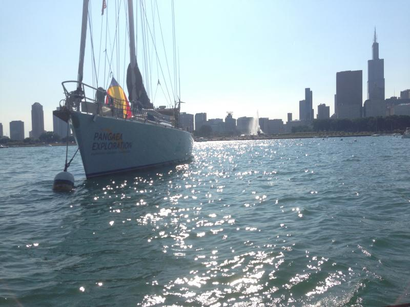 The Sea Dragon in Chicago's Monroe Harbor.