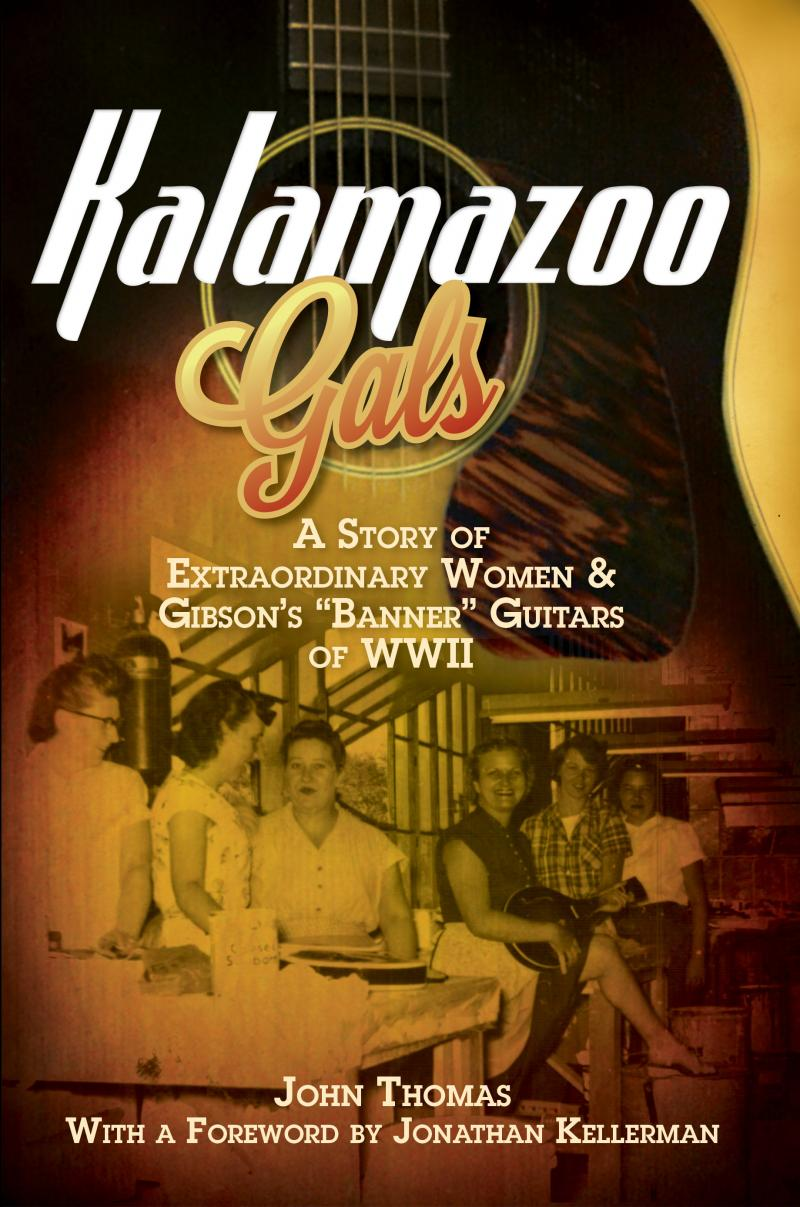 The cover of the 'Kalamazoo Gals' book.