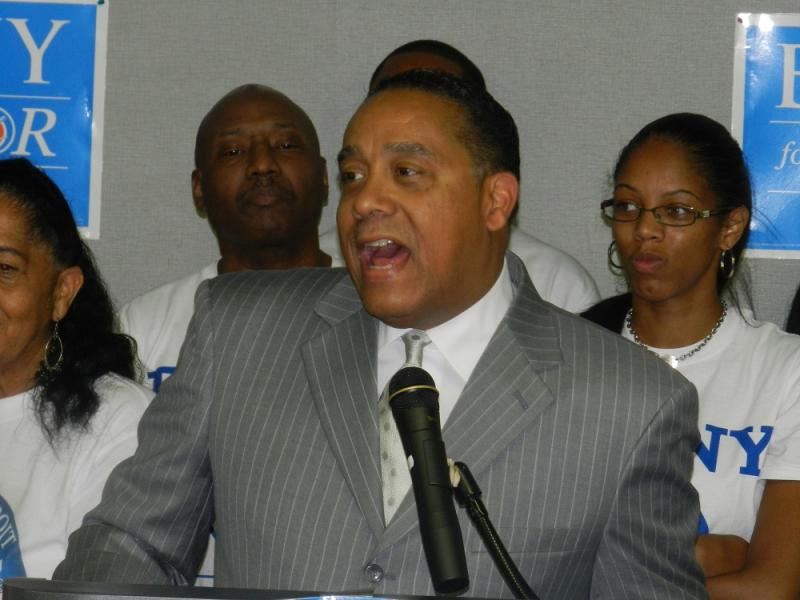 Benny Napoleon finished second in Tuesday's Detroit mayoral primary