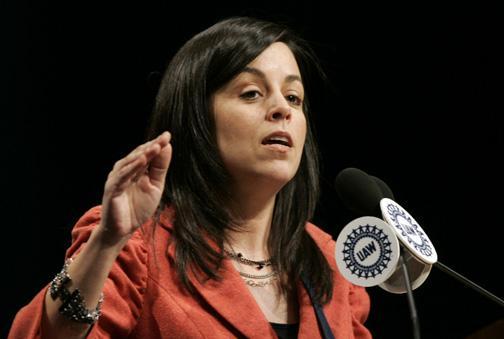 UAW Vice President Cindy Estrada.