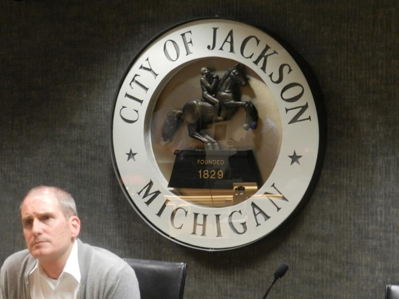 Jackson Mayor Martin Griffin read a prepared statement at last night city council meeting outlining the budget cuts tied to the ruling against the city's storm water fee.
