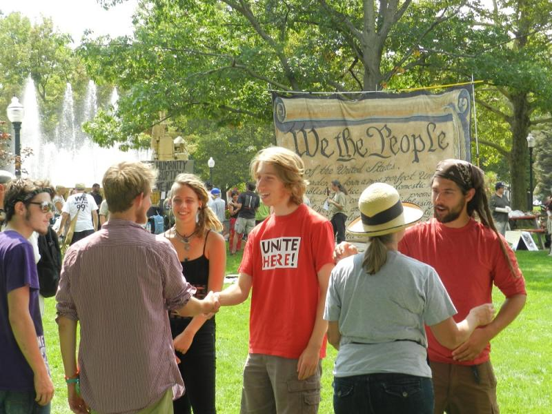 Occupy members from Seattle to Philadelphia are gathering in Kalamazoo this week