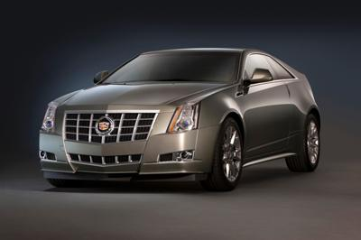 2014 Cadillac CTS-Coupe Built by GM