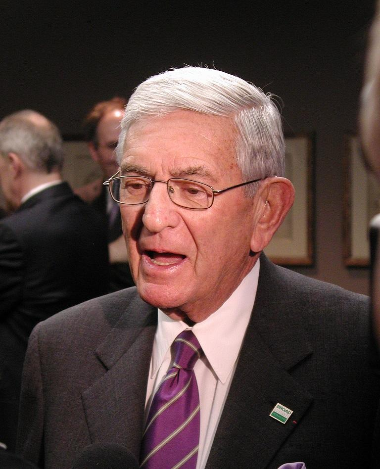 Eli Broad (file photo)