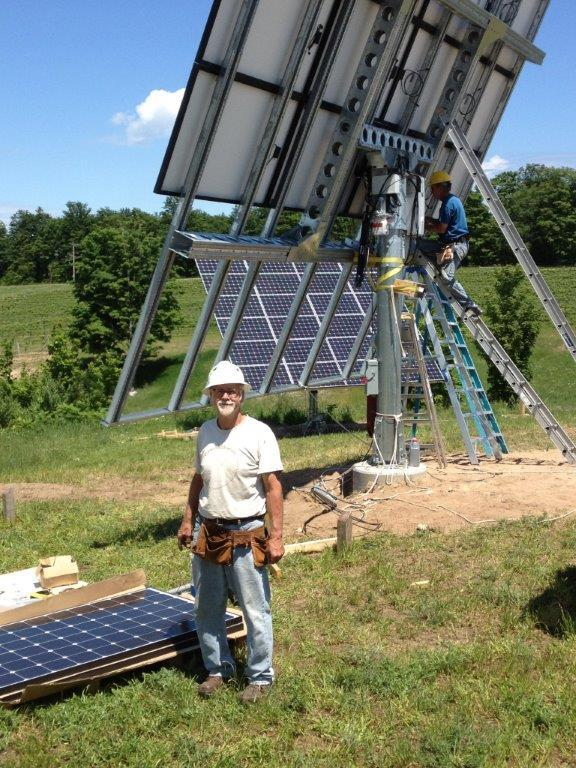 The cost of installing solar has gone down in the last year.