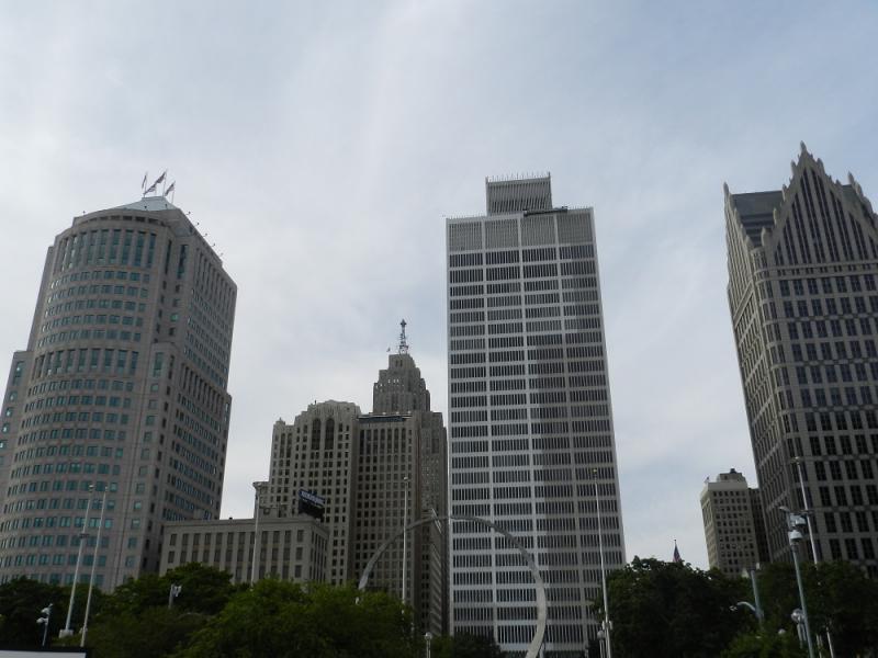 Downtown Detroit (file photo)