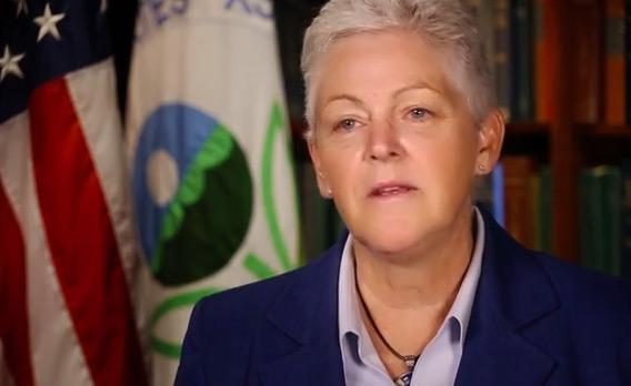 EPA Administrator Gina McCarthy.
