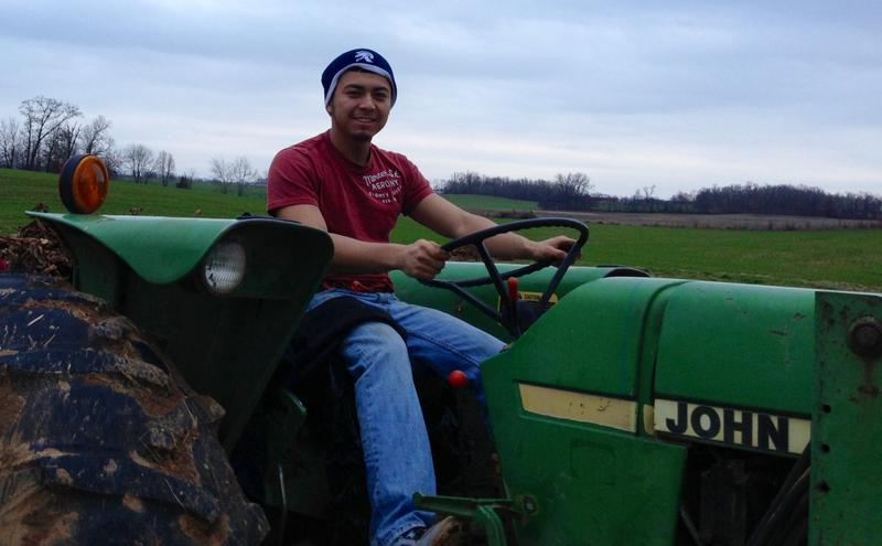 Elizalde Ramirez Vasquez is a migrant worker who goes to Michigan State University.