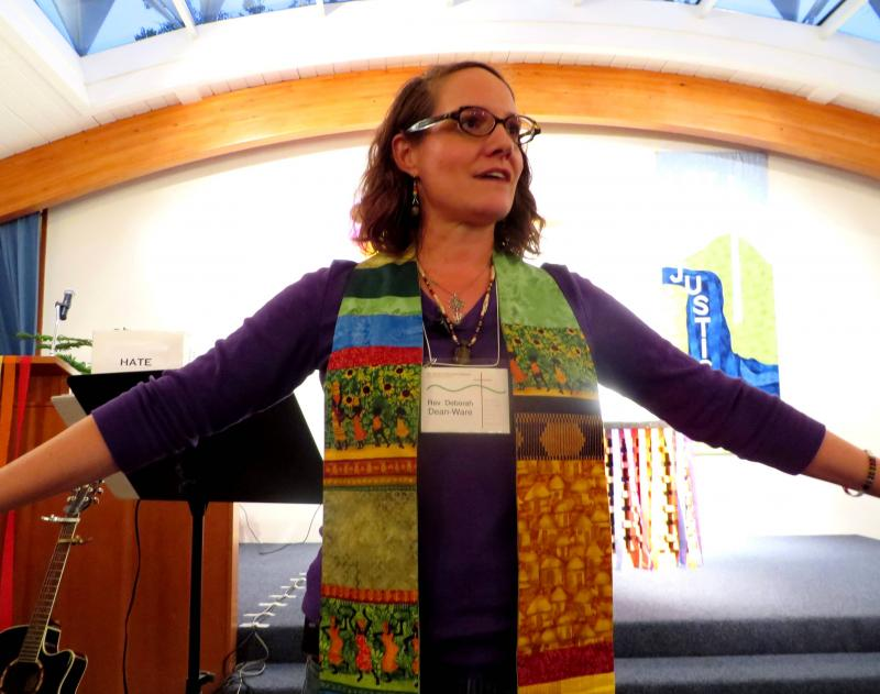 Church of the Good Shepherd Pastor Deborah Dean-Ware is among a growing number of clergy who believe laws that protect discrimination based on religious liberties are suppressing the religious liberties of clergy who want to help same-sex couples.