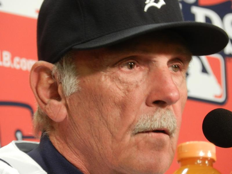 Tigers manager Jim Leyland.