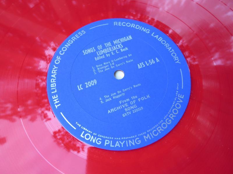 A vinyl record.
