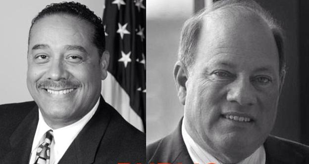 Benny Napoleon (l) and Mike Duggan (r) are running for Mayor of Detroit.