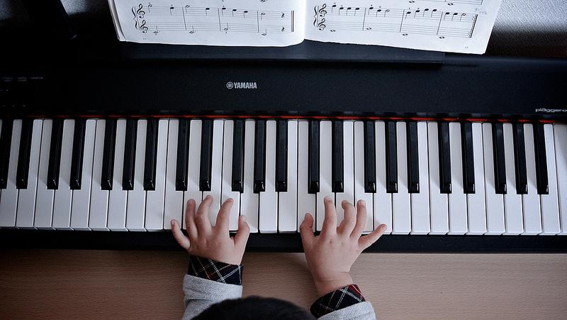 Do piano lessons lead to a more successful career outside of music?