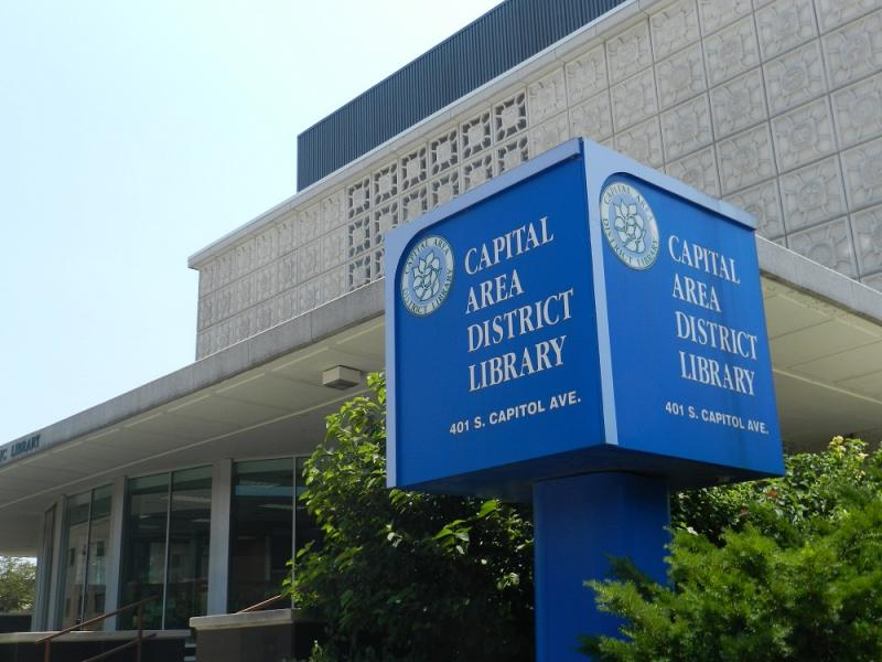 Capitol Area District Library, downtown Lansing branch (file photo)