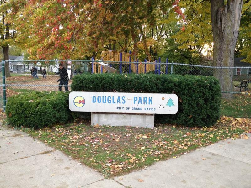 Douglas Park in Grand Rapids.