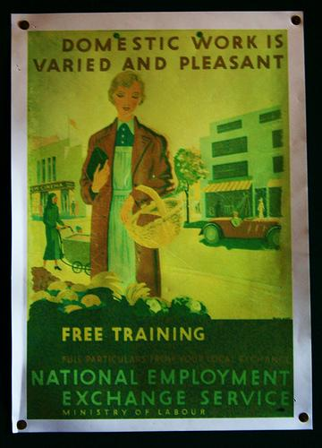 A poster in the The Workers Institute at The Black Country Living Museum.