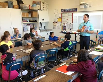 Nathan Cohen teaches 5th grade at Pierce Elementary in Birmingham