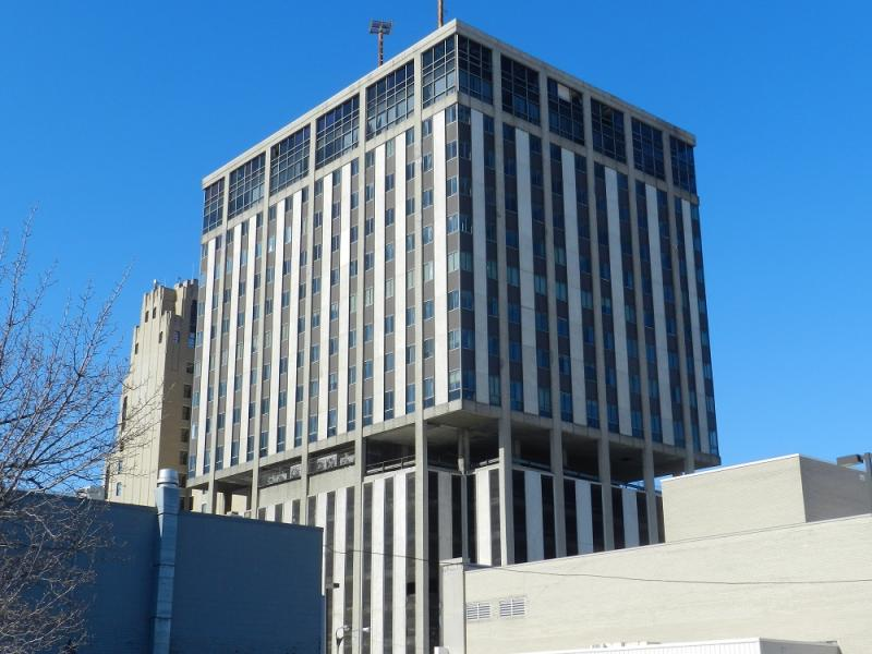 Genesee Towers office building, Flint, Michigan (file photo)