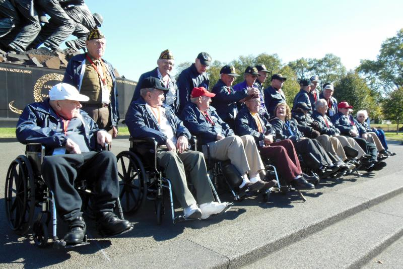 21 veterans from Southwest Michigan took part in the Talons Out Honor Flight in late October.