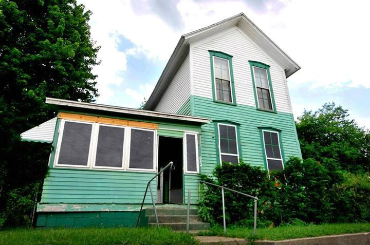 This is one of the houses Well House is renovating to provide permanent housing in Grand Rapids for homeless people.