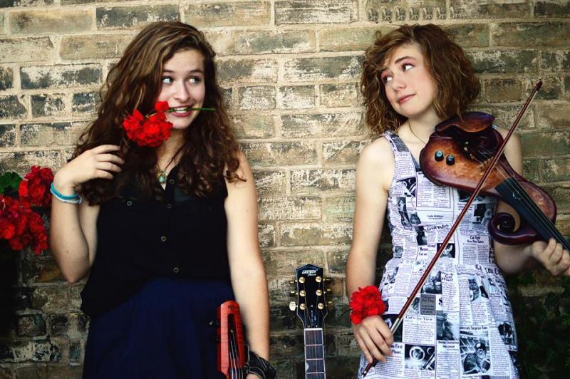 Katie Larson and Savannah Buist