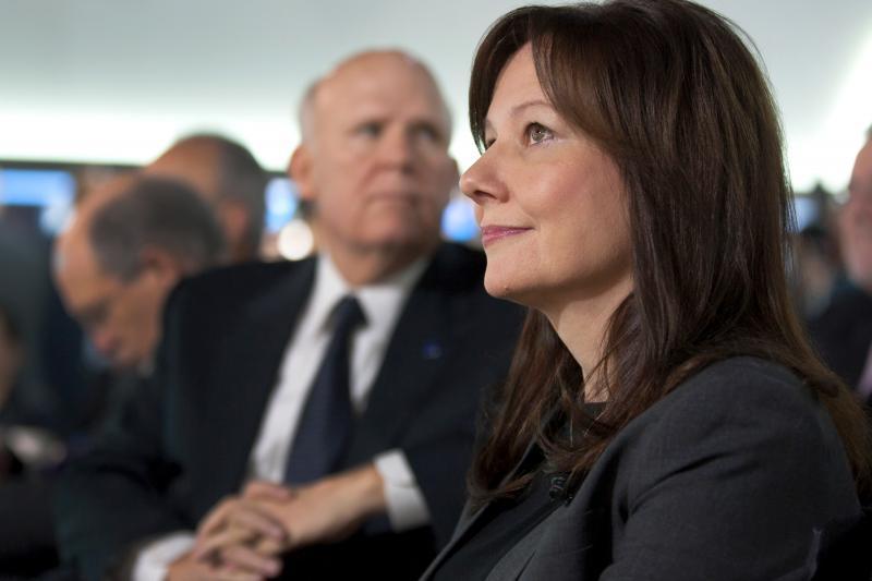 Mary Barra, 51, will become the first CEO in the global automotive industry.