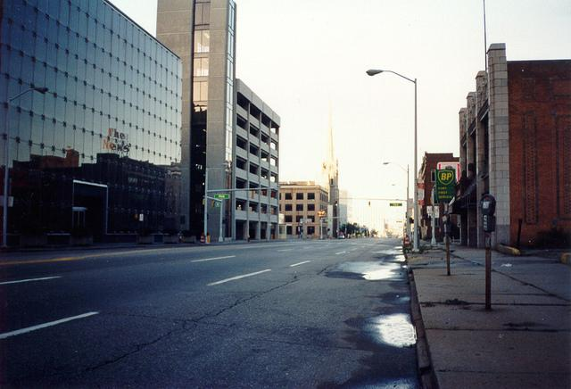 Streets of Detroit.