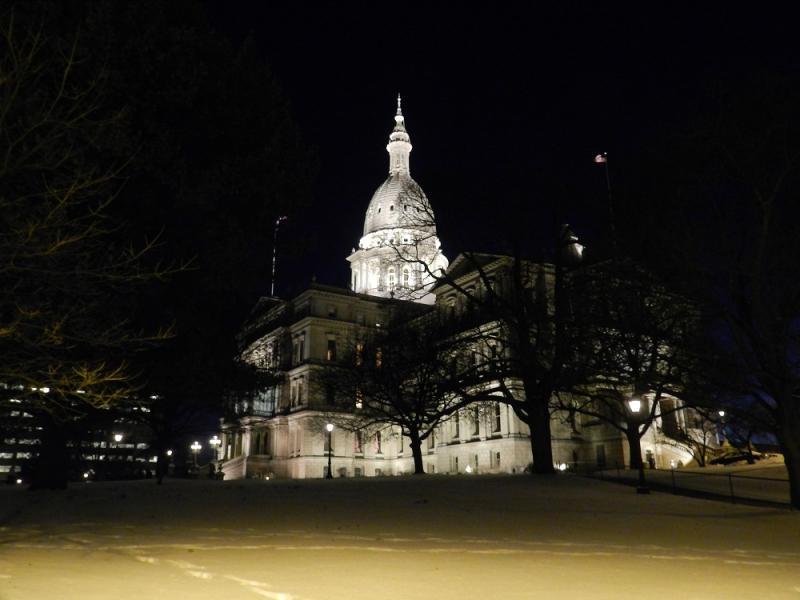 State capitol building, Lansing, Michigan (file photo)