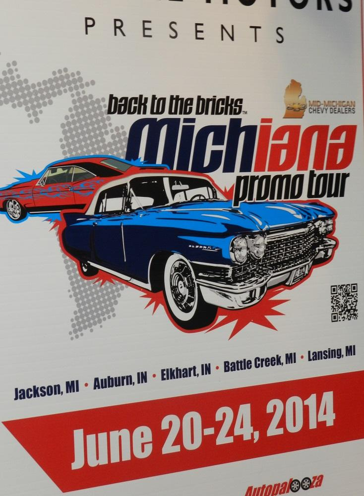 General Motors will be sponsoring the Michiana car shows and Flint's Back to the Bricks cruise next summer
