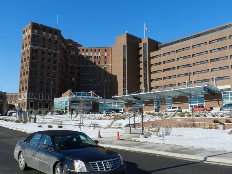 Hurley Medical Center, Flint, Michigan (file photo)
