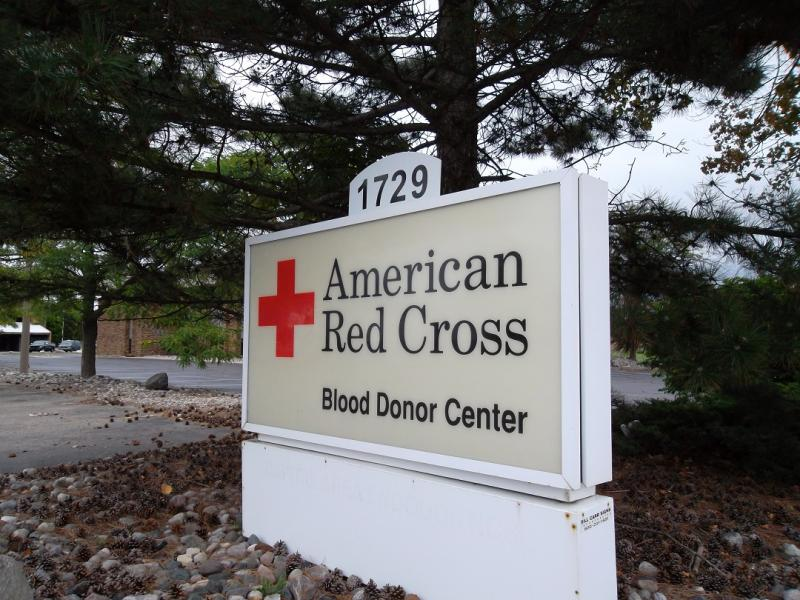 American Red Cross donation center, Lansing, Michigan (file photo)
