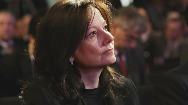 General Motors's next CEO, Mary Barra.