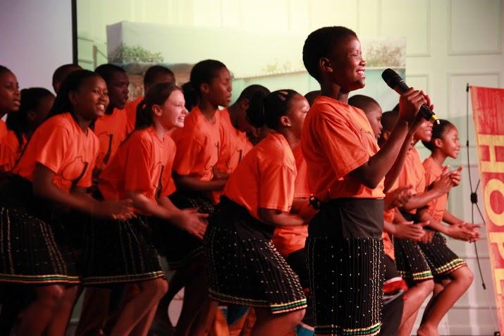 The Key of Hope children's choir takes the stage in Michigan this month. That girl in the center? You've got to hear her sing.