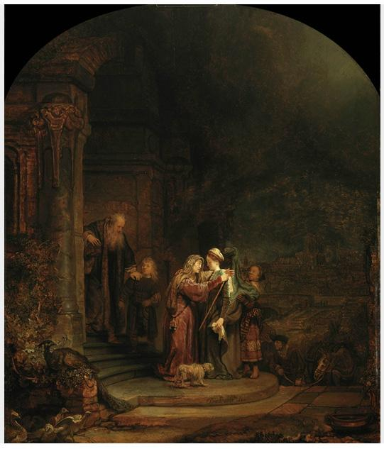 """The Visitation"" by Rembrandt is valued at up to $90 million according to Christie's."