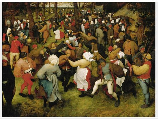 "Pieter Bruegel the Elder's 16th-Century painting ""The Wedding Dance"" is worth up to $200 million, according to Christie's."