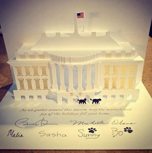 the 2013 white house christmas card