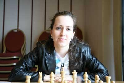 International Grandmaster Irina Krush.