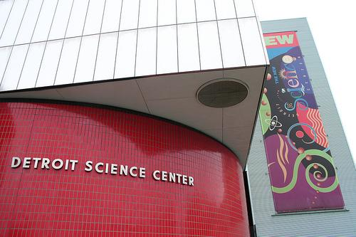 Detroit Science Center, now known as the Michigan Science Center.